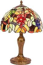 Carl Artbay Abajur de mesa estilo Tiffany, luminária decorativa retrô, pequena, adequada para sala de estar, mesa de janta...