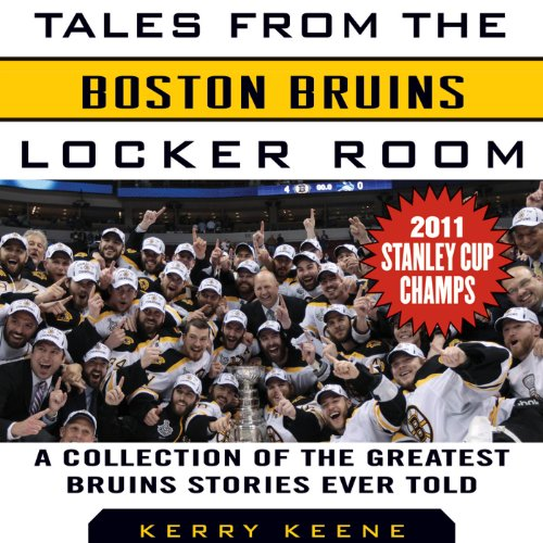Tales from the Boston Bruins Locker Room audiobook cover art
