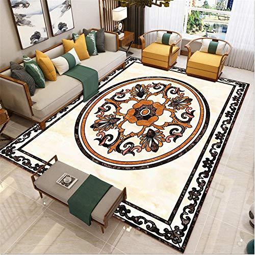 abitacion Juvenil Maqueta Rectangular Beige decoración de Sala de Estar Anti-Deslizamiento Sucio alfombras Infantil Dormitorio con Alfombra 80X160CM 2ft 7.5' X5ft 3'