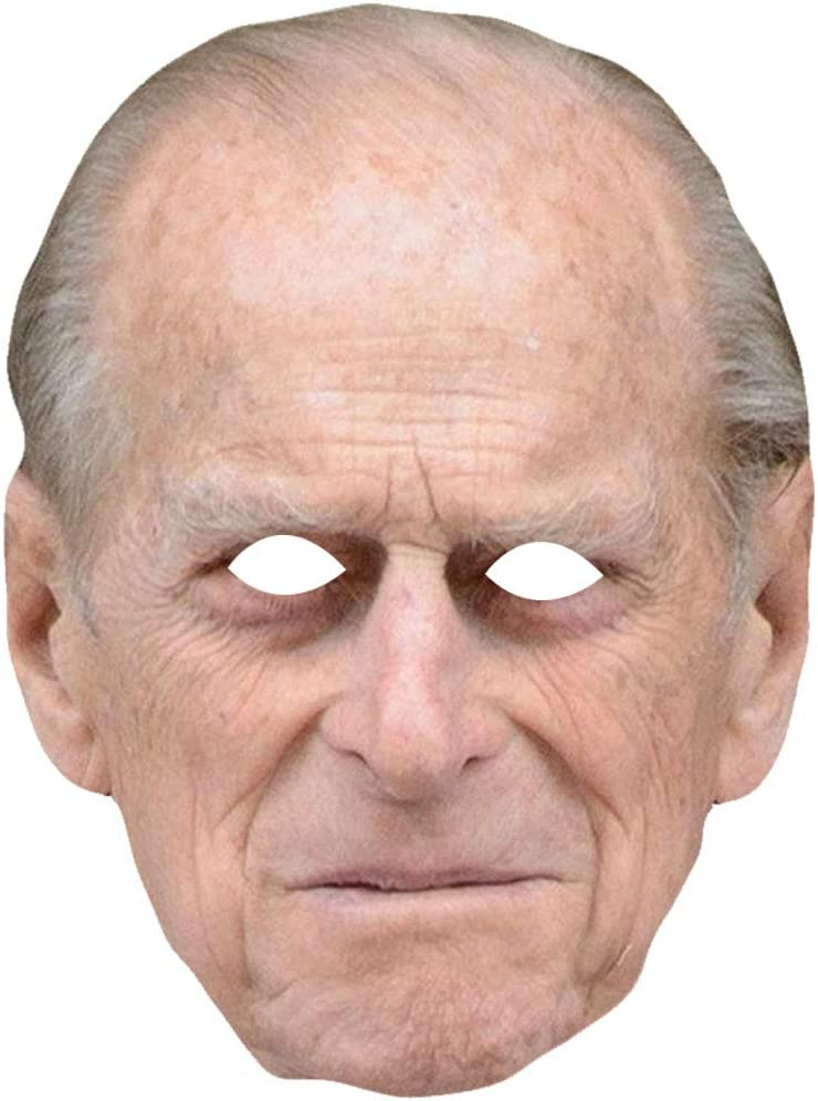 Royal Family Masks Queen Philip William Kate Adults Fancy Dress Party Accessory