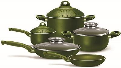 Amazon.com: OKSLO Ceramic nonstick 4 piece cookware set: Kitchen ...