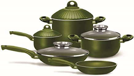 Pensofal 07PEN8731 Terre Di Siena Nonstick Cookware Set, 9-Piece
