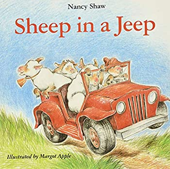 Paperback SHEEP IN A JEEP Book