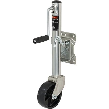 1,500 lb 3//4 Ton TCE ATR39002U Torin Dual Wheel Swing-Back Bolt-On Trailer Jack Capacity