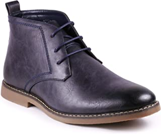 Metrocharm MC120 Men's Lace up Casual Fashion Ankle Chukka Boots