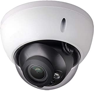 Dahua 4MP POE Dome Camera IPC-HDBW4433R-ZS 2.7-13.5mm Motorized Varifocal Lens H265 IP67 Outdoor Onvif Security Surveillance Network Camera International Version