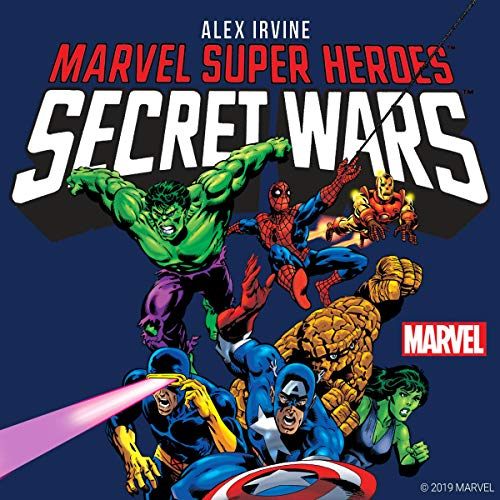 『Marvel Super Heroes: Secret Wars』のカバーアート