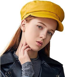 862e8a2c6 Amazon.com: Yellows - Newsboy Caps / Hats & Caps: Clothing, Shoes ...