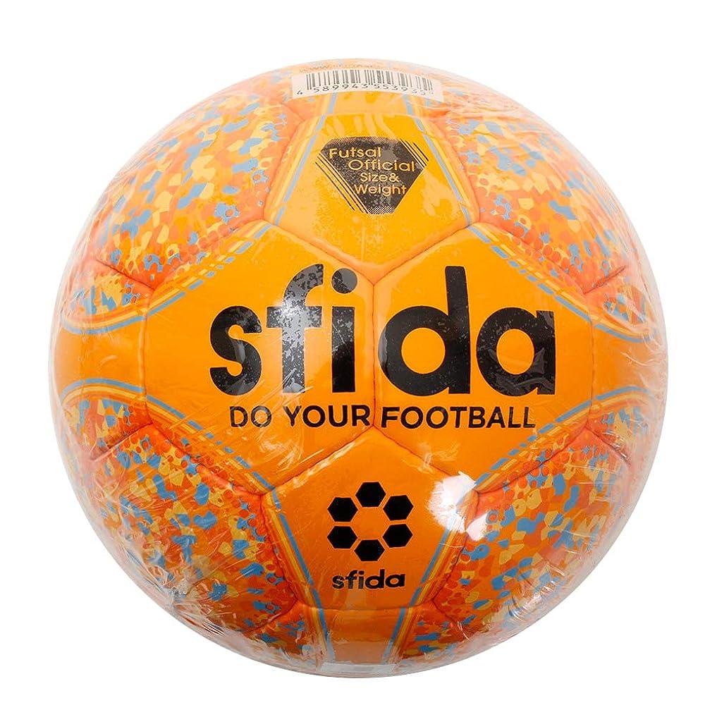 まぶしさ住所スイングsfida(スフィーダ) フットサル ボール JFA 検定球 Fリーグ 手縫い ドット 水玉 インフィニート 2 INFINITO II BSF-IN12 ORANGE 4号(中学生以上) 一般 プロ