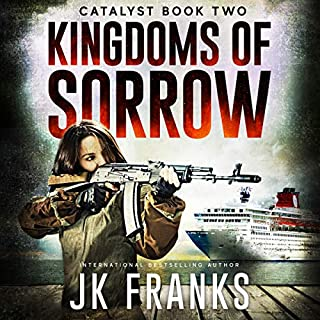 Kingdoms of Sorrow     Catalyst, Book 2              Written by:                                                                                                                                 JK Franks                               Narrated by:                                                                                                                                 Steven Varnum                      Length: 15 hrs and 15 mins     Not rated yet     Overall 0.0