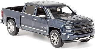 Motor Max 2018 Chevy Silverado Pick-Up Truck (Centennial Edition), Steel Blue 79353BU - 1/27 Scale Diecast Model Toy Car