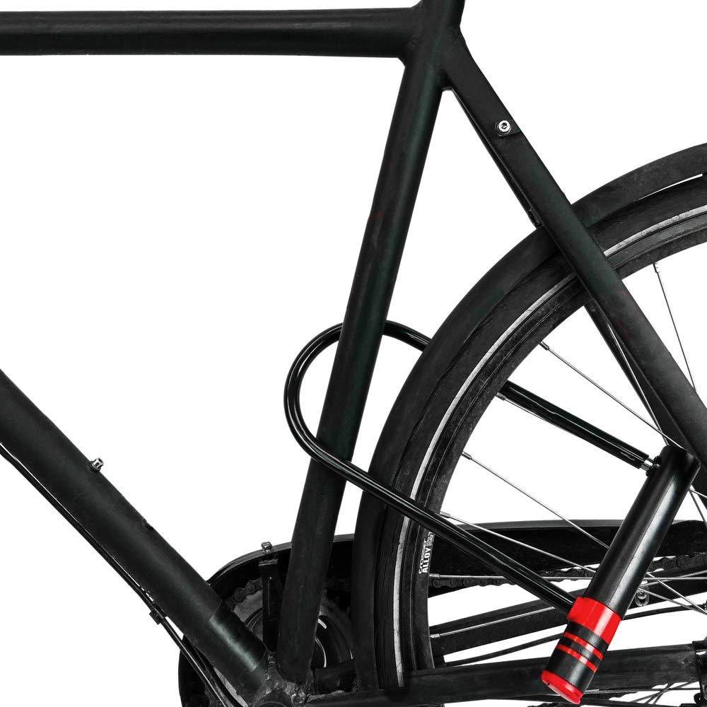 PrimeMatik - Candado antirrobo de Acero para Bicicleta y ...