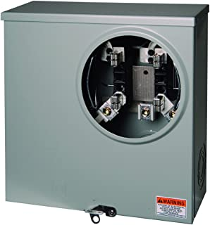Square D by Schneider Electric UHTRS223A 200A Ringless Underground Meter Socket With Horn Bypass