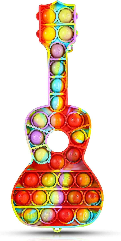 BSFORV Push Pop Bubble Fidget Sensory Dye Silic Toys Tie Violin Over Al sold out. item handling