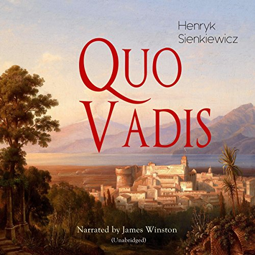 Quo Vadis audiobook cover art