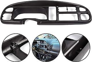 Dash Bezel Dashboard Replacement Radio Instrument Cluster Gauge Trim With Clips For 98-01 Dodge Ram 1500//98-02 ram 2500 3500 Pickup Truck 5GK51DX9AA
