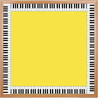 Hygloss Products Die-Cut Bulletin Board Border – Piano Design - Classroom Decoration – 3 x 36 Inch, 12 Pack