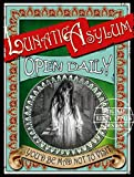565pir Lunatic Asylum viktorianischen Stil Poster