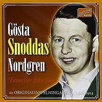 Gosta Snoddas Nordgren 1952-54