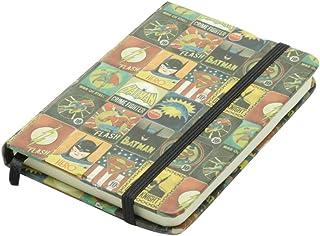 Caderneta de Anotação Dc Liga da Justiça Vintage League Urban Colorido Papel