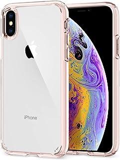 Spigen Ultra Hybrid Funda iPhone XS/X con Tecnología de cojín de Aire y protección híbrida de la Gota para iPhone XS 5.8