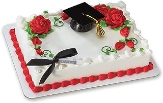 Decopac Black Graduation Cap with Tassel DecoSet Cake Topper