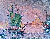 Kunstdruck/Poster: Paul Signac Venedig die rosa Wolke -