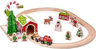 Bigjigs Rail Winter Wonderland Train Set