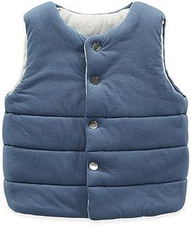 Elfin Park子供服 ベスト 中綿 ジャケット 軽量 キッズ 男の子 女の子 無地 リバーシブル 防寒 あったか ピンク グレー ブルー 90-140
