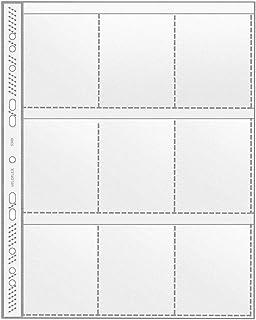 Veloflex 5349000 Sammelhülle DIN A4, Fotohülle, 9 Fächer