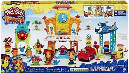 Play-Doh Hasbro B5868EU4 - Town Stadtzentrum, Knete
