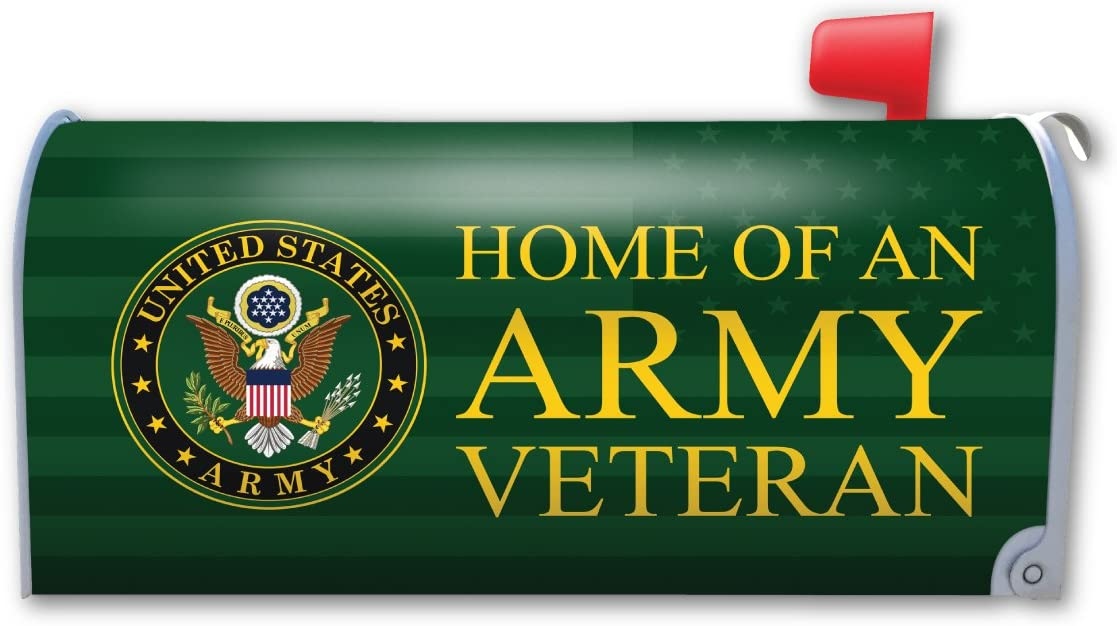 Home Max 44% OFF Mesa Mall of an Army Veteran Cover Magnet Mailbox