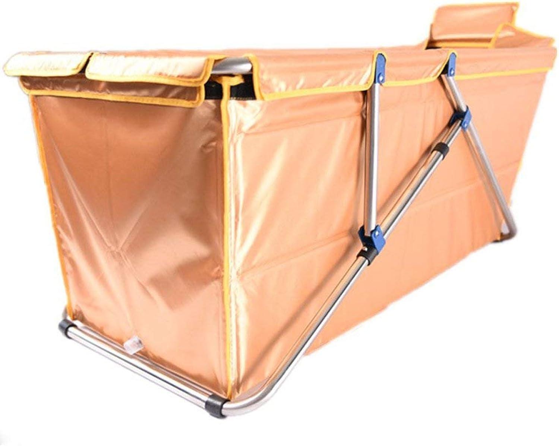 FEI Bathtub Inflatable Bathtub Folding Bathtub Adult Bath Tub Bath Barrels Lengthened Thicken Bath Insulation Warm