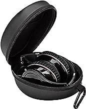 Headphone case for Skullcandy HESH 3, Crusher Bluetooth, Beats Studio, Sennheiser Momentum2.0, Sony H.Ear On, Monster Diamond, Headphones Hard Shell Carrying Case / Headset Travel Bag Black