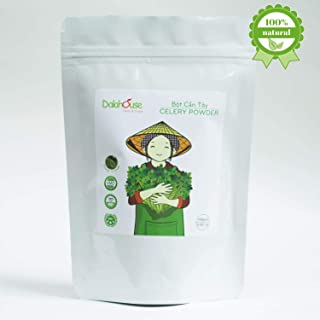 Dalahouse Powder Detox (Celery Powder), Tasting Organic Green Juice Super Food with 25+ All Natural Ingredients for Max Energy and Detox