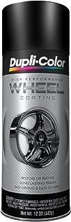 Dupli-Color HWP104 Black High Performance Wheel Paint - 12 oz. (6 PACK)