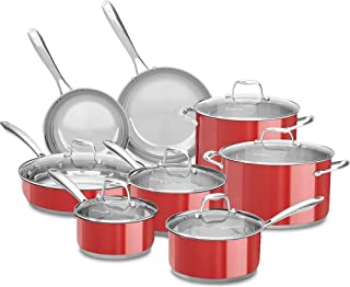 Best kitchenaid cookware set stainless steel 11-piece Reviews