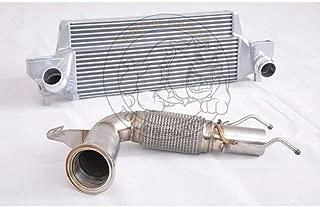 200Cell Cat Downpipe+Intercooler For B.M.W MINI COOPER S MK3 F56 2.0T (35HP+ 2014+)