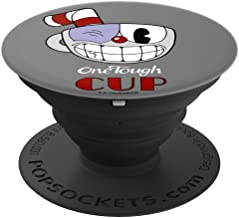 Cuphead One Tough Cup Black Eye Wink - PopSockets Grip and Stand for Phones and Tablets