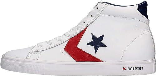 Converse PRO Leather Hi White