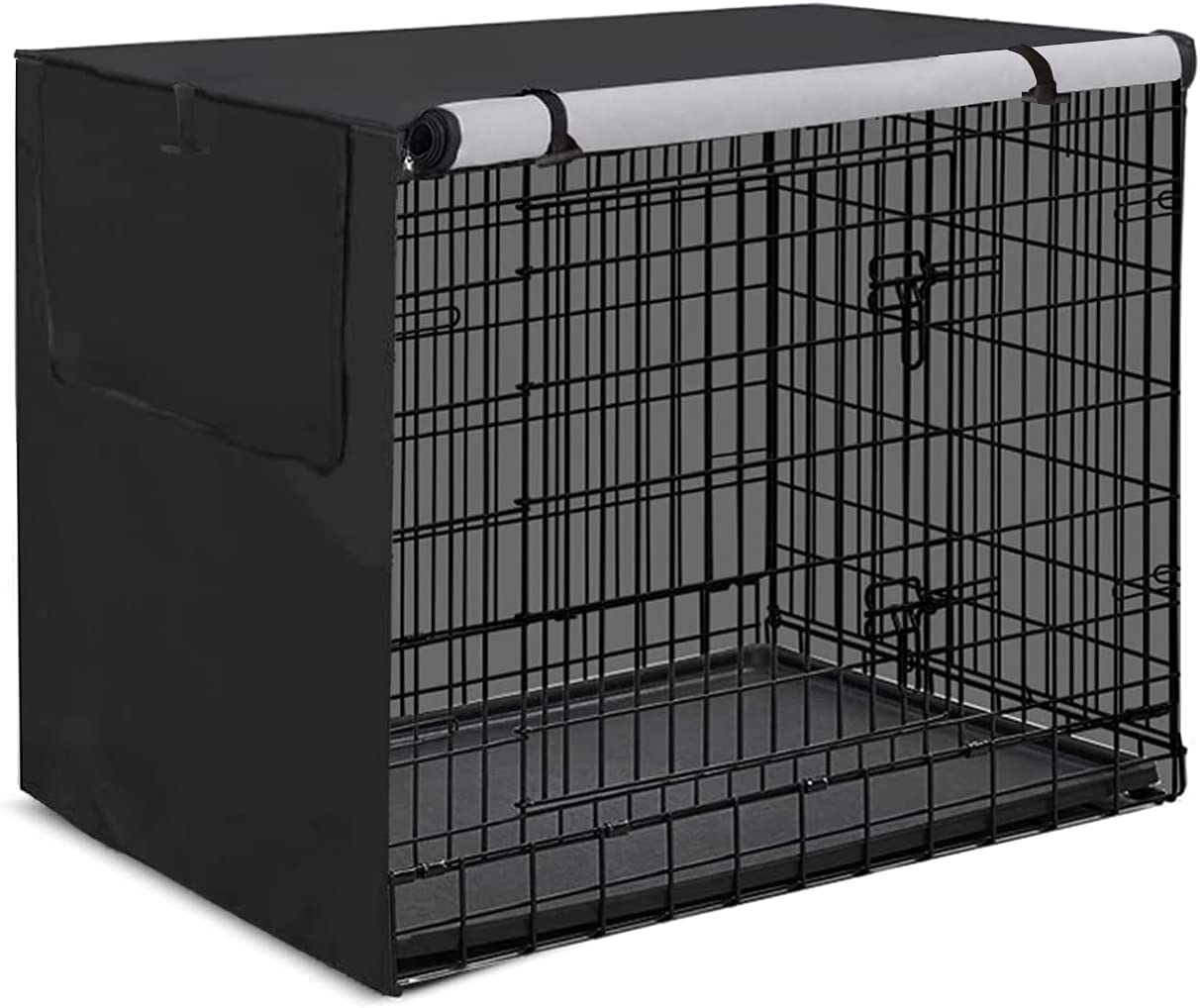 Dog Crate Cover Attention brand Waterproof Durable Fi Mail order cheap Polyester Pet Kennel