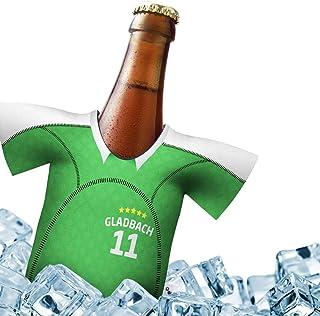 Mein Gladbach Trikotkühler | Eiskalter Biergenuss. Jedes Spiel. Jedes Tor. Jeden Moment | Fan-Edition für Zuhause | Home-Trikot Herren Bier Flaschenkühler & Fanartikel by ligakakao.de