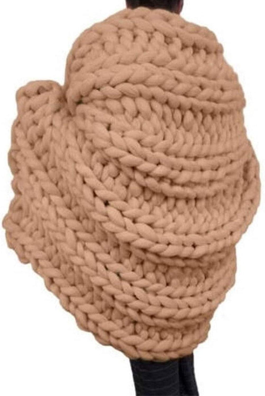 Chunky Knit Los Angeles Mall Blanket List price Throw Bul Handmade Cable