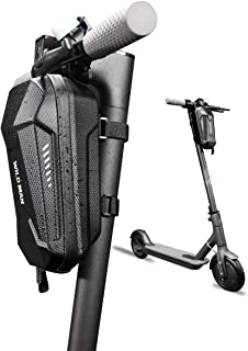 Seway Scooter Storage Bag, Front Hanging Bag for M365 / Segway by Ninbot Electric Scooter Handlebar Organizer Suspension Bag EVA Multi-Purpose Carrying Shell Case for Charger Tools Compatible ES1/ES2/