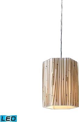 Amazon.com: Colgantes 3 luz con acabado de níquel, Metal ...