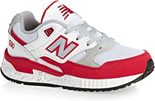 New Balance KL530RGG: 530 Big Kid Red/White Sneaker