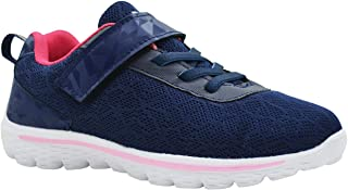 KazarMax Kid's Navy-Pink Sports Shoes for Boys/Girls (Made in India) 2.5 Years To 9 Years (Made in India) 2.5 Years To 9 Years