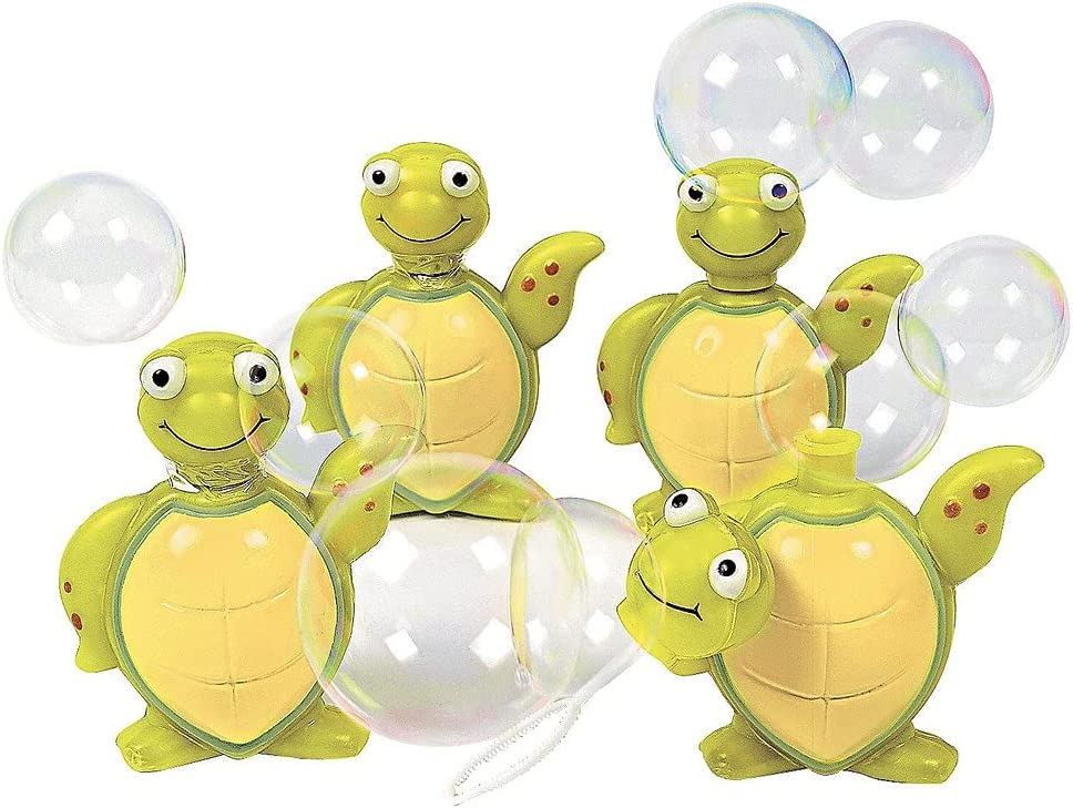Esunagari Stores 12 Piece Turtle Albuquerque Mall Max 47% OFF Bottles Bubble Sea