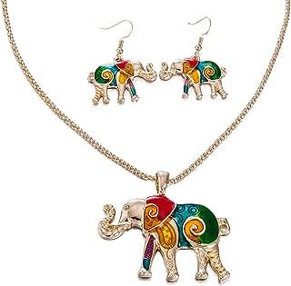 Assortment of Elephant Necklaces