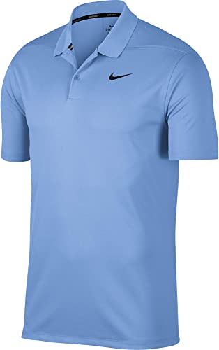Nike Nike Nike Hommes's Dry Victory Polo Solid Left Chest Polo, University bleu noir, 3X-Large 934